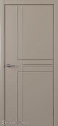 Межкомнатная дверь Albero Сигма серая