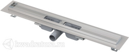 Водоотводящий желоб с порогами для перфорированной решетки Alcaplast APZ101 Low