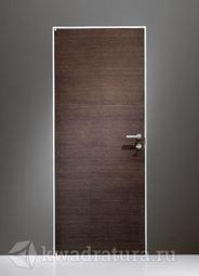 Скрытая межкомнатная дверь ProfilDoors 1Z Венге Кроскут ABS