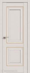 Дверной комплект Профильдорс 27u Магнолия сатинат 2000*800