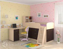 Кровать Дюймовочка 1 Венге