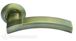 Дверная ручка Morelli MH-12 MAB/AB мат. бронза