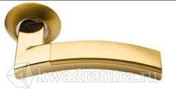 Дверная ручка Morelli MH-12 SG/GP мат. золото