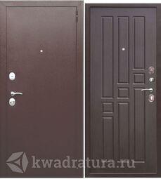 Входная дверь Феррони Гарда 6 см Медь/Венге