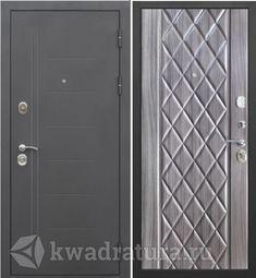 Входная дверь Феррони Троя 10 Муар/Полисандр темный
