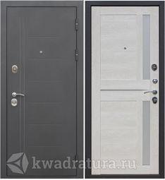 Входная дверь Феррони Нью-Йорк 7,5 мм Муар/Каштан перламутр