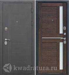 Входная дверь Феррони Нью-Йорк 7,5 мм Муар/Каштан мускат