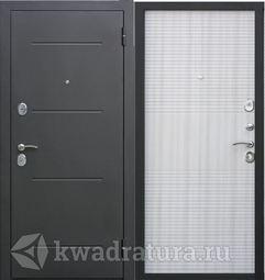 Входная дверь Феррони Гарда 7,5 Черный муар/Дуб сонома