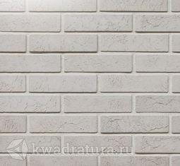 Декоративный гипсовый камень Римский кирпич белый