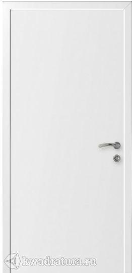Межкомнатная дверь Капель  ДГ Гладкая Белая