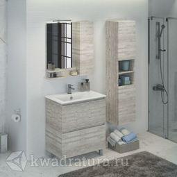 Мебель для ванной Comforty Верона 75 см Дуб белый
