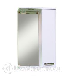 Мебель для ванной Sanita Зеркало-шкаф Квадро 50 см