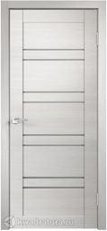 Межкомнатная дверь VellDoris Лайм 8 дуб белый поперечный