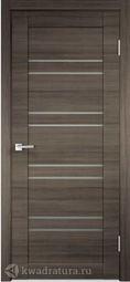 Межкомнатная дверь VellDoris Лайм 8 серый поперечный