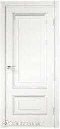 Межкомнатная дверь VellDoris Лотос/Iмperial ДГ дуб пломбир браш