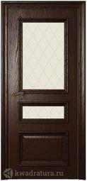Межкомнатная дверь Магнолия 3 СТ Дуб бренди