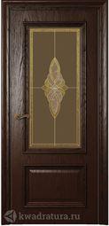 Межкомнатная дверь Магнолия2 ДО Дуб Бренди