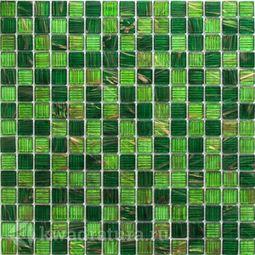 Мозаика стеклянная Bonaparte Verde 32,7х32,7