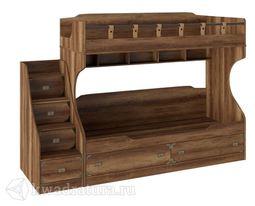 Навигатор Кровать двухъярусная с лестницей