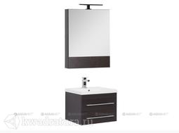 Набор мебель для ванной Aquanet Нота 58 венге