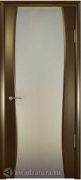 Межкомнатная дверь Океан Буревестник 2 СТ Белое Венге