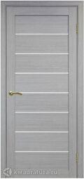 Межкомнатная дверь OPorte Турин 508 Дуб серый
