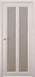 Межкомнатная дверь Океан Optima 5 СТ Бел Рамка дуб белый жемчуг