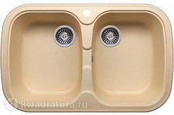 Кухонная мойка Polygran F-150 Бежевая