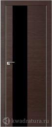 Межкомнатная дверь Профильдорс 5z Венге Кроскут черный глянец