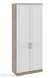 Шкаф Прованс для одежды с глухими дверями 440