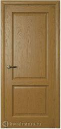 Межкомнатная шпонированная дверь Самшит 2 ДГ Дуб Капри 2000х800