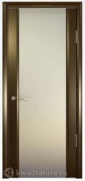 Межкомнатная дверь Океан Шторм 3 СТ Белое Венге