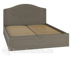 Кровать Ассоль Plus 1600 с подъемным механизмом Грей