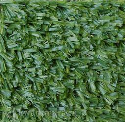 Искусственная трава для футбольного поля Люберцы Grass Lux зеленая