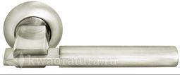 Дверная ручка Morelli MH-13 SN/СP мат. никель