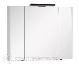 Зеркало-шкаф Aquanet Орлеан 105 белый