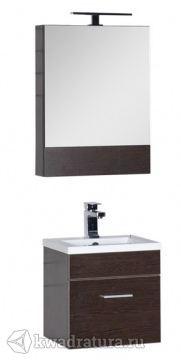 Набор мебель для ванной Aquanet Нота 50 венге